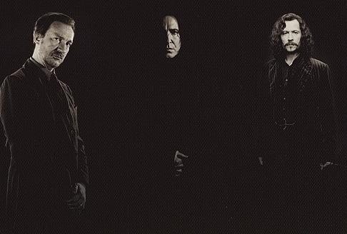 Fanfic / Fanfiction Black, Lupin ou Snape?