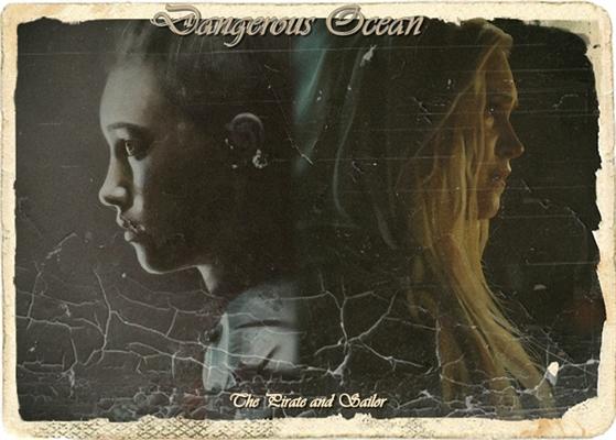 Fanfic / Fanfiction Dangerous Ocean - The Pirate and Sailor.