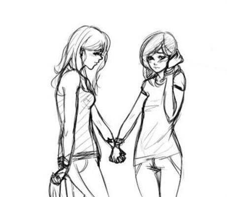 Fanfic / Fanfiction 2 girls 1 love