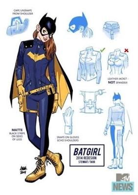 Fanfic / Fanfiction Batgirl