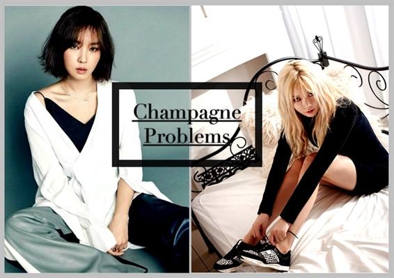 Fanfic / Fanfiction Champagne Problems
