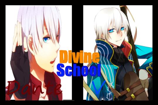 Fanfic / Fanfiction Divine School - Interativa