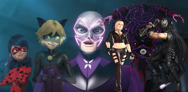 Fanfic / Fanfiction O ninja, a joaninha e o gato negro