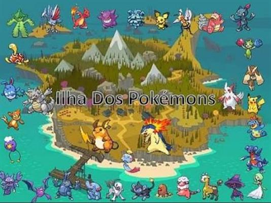 Fanfic / Fanfiction Ilha dos pokemon ! Interativa