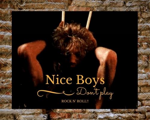 Fanfic / Fanfiction Nice Boys