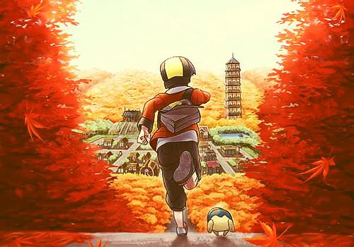 Fanfic / Fanfiction Pokémon Heart Gold and Black White: The origin