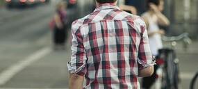 Fanfic / Fanfiction Sua camisa xadrez...