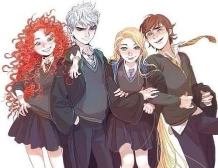 Fanfic / Fanfiction The big four in Hogwarts - A câmara secreta