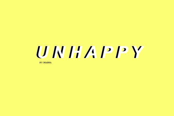 Fanfic / Fanfiction Unhappy