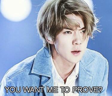 Fanfic / Fanfiction You want me to prove? (Imagine hot Sehun)