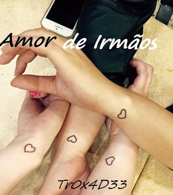 Fanfic / Fanfiction Amor De Irmãos