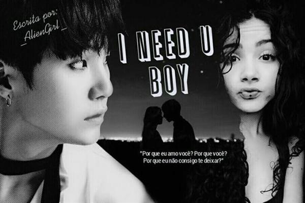 Fanfic / Fanfiction BTS - I Need U Boy (SUGA)