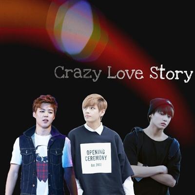 Fanfic / Fanfiction Crazy Love Story (Imagine Maknae Line)