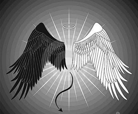 Fanfic / Fanfiction Demônio bom e Anjo mau