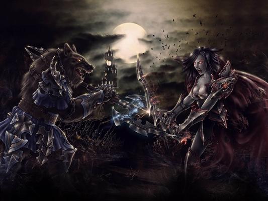 Fanfic / Fanfiction Entre Vampiros e Lobisomens