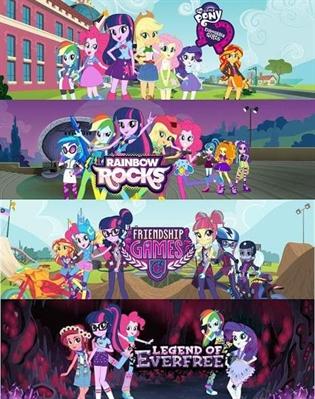 Fanfic / Fanfiction Equestria Girls X Miraculous