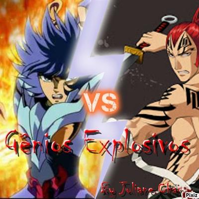 Fanfic / Fanfiction Gênios Explosivos