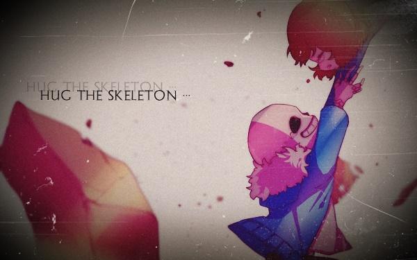 Fanfic / Fanfiction Hug The Skeleton!