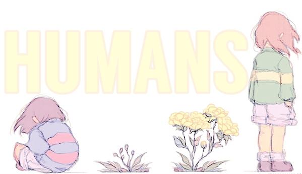 Fanfic / Fanfiction Humans {Undertale Interativa}