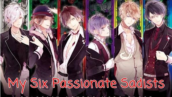 Fanfic / Fanfiction My Six Passionate Sadists