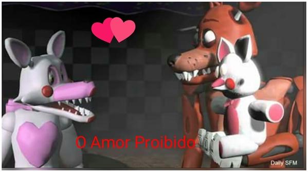 Fanfic / Fanfiction O Amor Proibido-FNAF