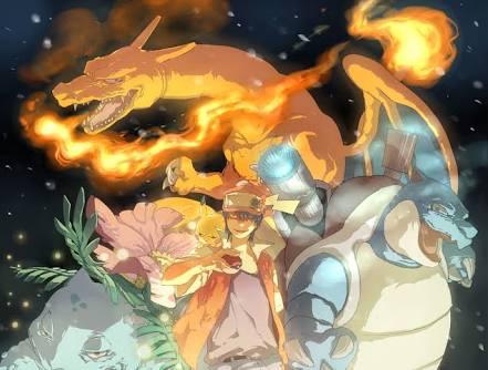 Fanfic / Fanfiction Aventuras No Mundo Pokémon