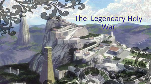 Fanfic / Fanfiction Saint Seiya-The Legendary Holy War - INTERATIVA