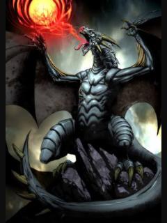 Fanfic / Fanfiction Sangue de dragão A peça