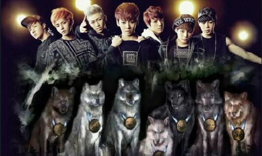 Fanfic / Fanfiction Seven wolfs
