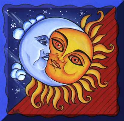 Fanfic / Fanfiction Sol e Lua