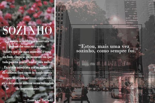 Fanfic / Fanfiction Sozinho