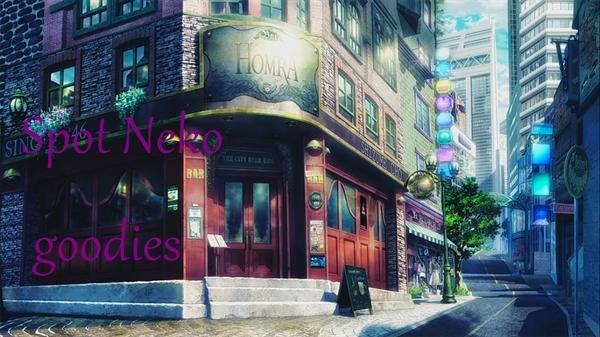Fanfic / Fanfiction Spot Neko goodies - Interativa