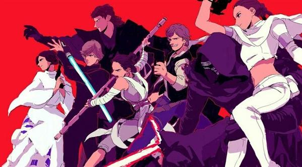 Fanfic / Fanfiction Star wars- Um novo começo