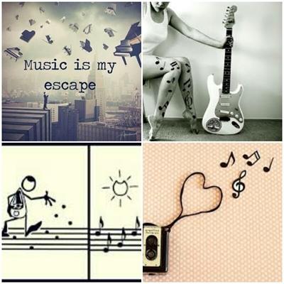 Fanfic / Fanfiction Sweet music