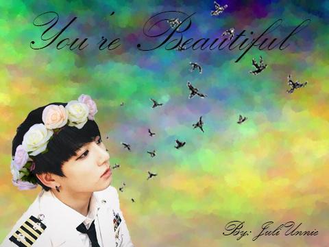 Fanfic / Fanfiction You're Beautiful (Imagine Jungkook)