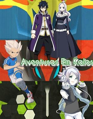 Fanfic / Fanfiction 1 Temp - Em Kalos! Sonhos e Aventuras!
