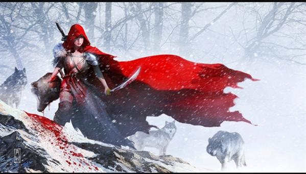 Fanfic / Fanfiction A capa vermelha