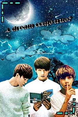 Fanfic / Fanfiction A Dream Came True? Imagine Maknae Line