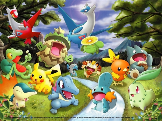 Fanfic / Fanfiction Adventure Of The Pokemon World