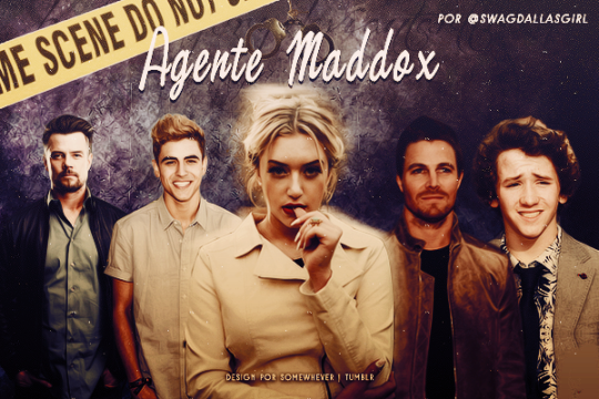 Fanfic / Fanfiction Agente Maddox