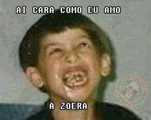 Fanfic / Fanfiction Ai Cara como Eu Amo A Zueira