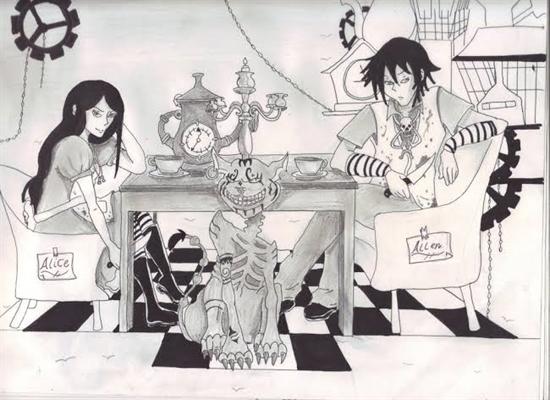 Fanfic / Fanfiction Alice madness returns (interativa)