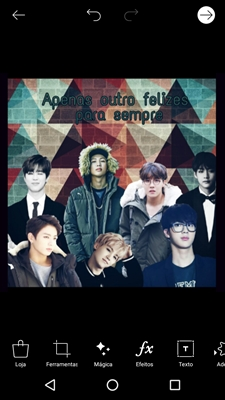 Fanfic / Fanfiction Apenas outro felizes para sempre (Imagine BTS)
