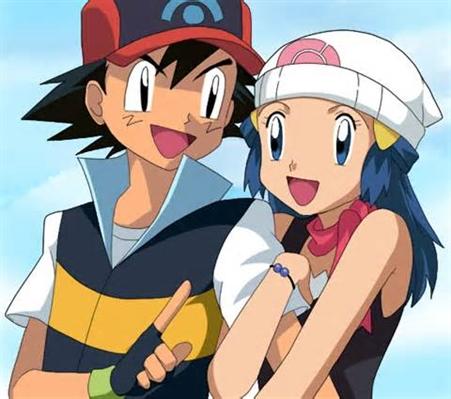 Fanfic / Fanfiction Ash e dawn uma aventura pokémon