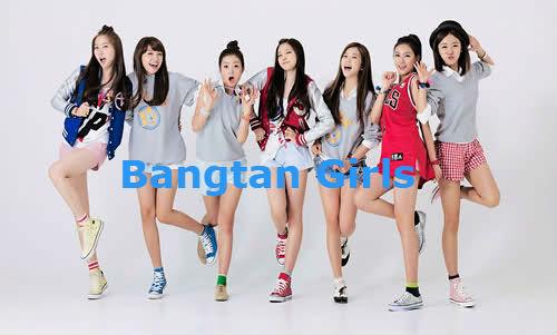 Fanfic / Fanfiction Bangtan Girls- (interativa)
