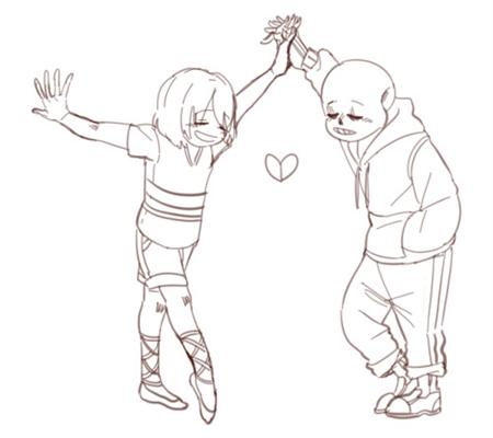 Fanfic / Fanfiction Dancetale : elastic hearth