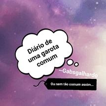 Fanfic / Fanfiction Diário de uma garota comum...