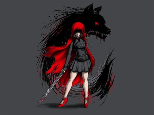 Fanfic / Fanfiction Encarando o lobo mau