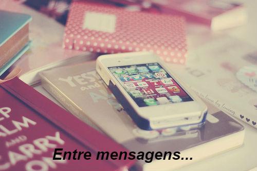 Fanfic / Fanfiction Entre mensagens-Interativa
