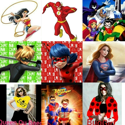 Fanfic / Fanfiction Escola de Super heróis